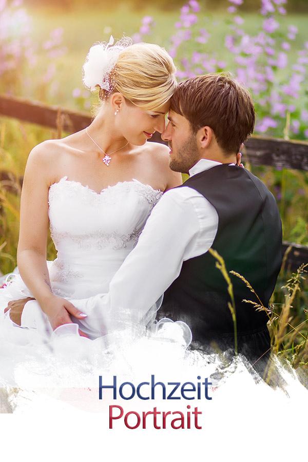 Hochzeit-Portrait